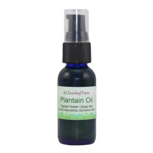 Plantain Herbal Infused Oils